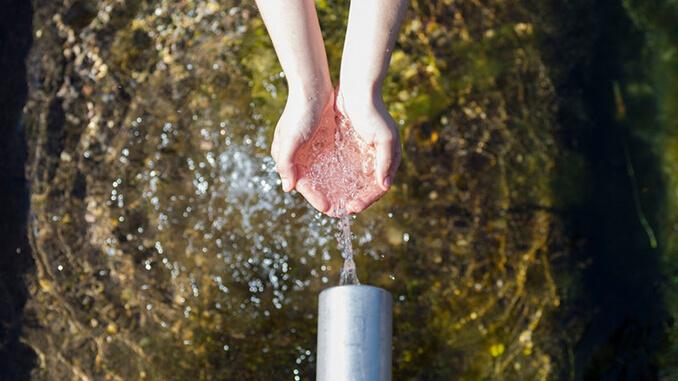 Die Wasserversorgung in Deutschland ist ausreichend