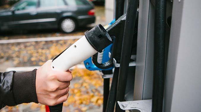 Aufladestation für Elektroautos