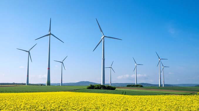 Windkraft als erneuerbare Ernergie